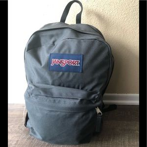 Jansport Gray new with tags. Authentic